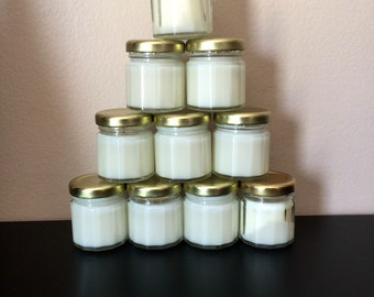 15 soy candle baby shower favors (1.5 oz)