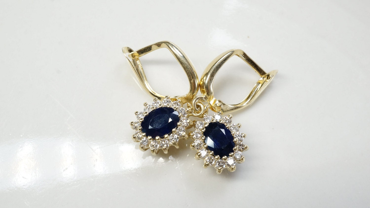 sapphire ring earrings drop r blue passion jewellery product carat simulated