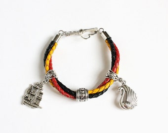 Captain Swan Leather Bracelet (OUAT)