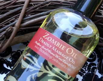 Zombie Oil - Deadly Massage Oil - Choose Your Scent