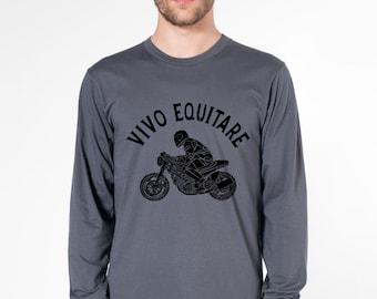 KillerBeeMoto: Live To Ride (Latin) Short And Long Sleeve Motorcycle Shirts