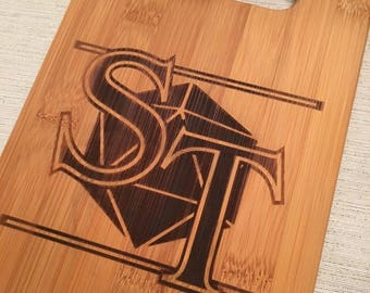 Stranger Things Bamboo Cutting Board-Small