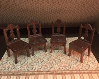 1934 Strombecker Miniature Chairs