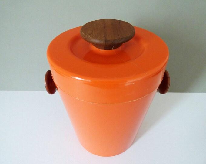 Ice Bucket Luthje Denmark Vintage Modernist MCM