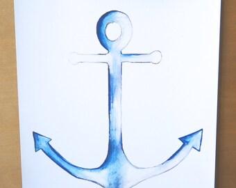 Anchors Aweigh Print