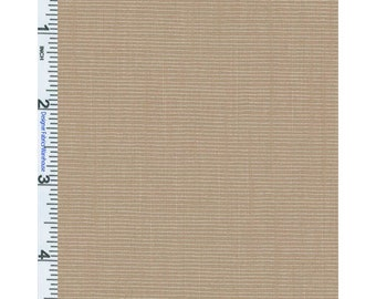 Tan/Khaki Micro Yarn Dyed Slub, Fabric By The Yard