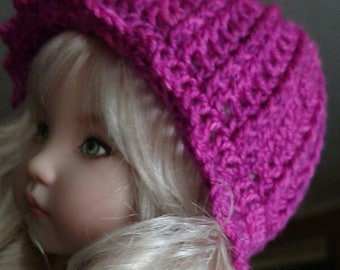 "Crochet Cloche Hat Pattern for 13"" dolls"