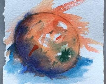 Orange 7  - Original watercolour