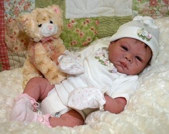 "Reborn Baby Girl ""Paisley"" by Believable Babies for People with Dementia and Alzheimer's- Doll Therapy for Memory Care"