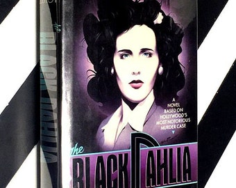 The Black Dahlia by James Ellroy (1987) hardcover first edition book
