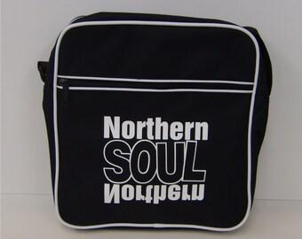retro flight bag - shoulder bag