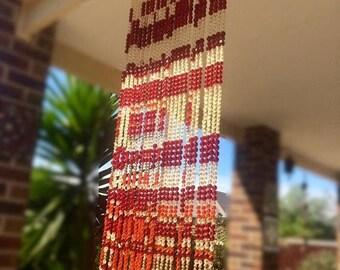 ON SALE Beaded curtain bead curtain beaded curtains door hangings door curtains hanging beads door beads bead string beads bead wall hanging
