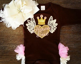 Heaven Sent coming home outfit