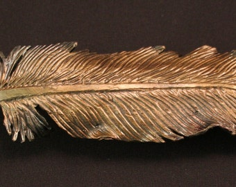 Made to Order Bronze Feathers
