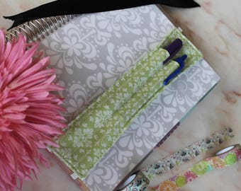 Fabric Pen quiver for 9in notebook