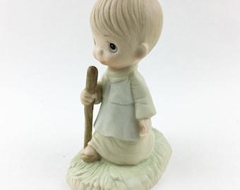 Vintage Precious Moments He Leads Me Figurine