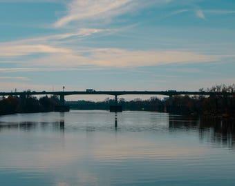 Bridge Photograph, River Photograph