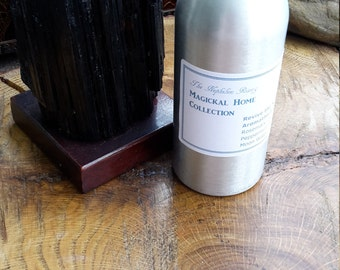 Revive the Senses Aromatherapy Mist (8 oz.) w/ Clear Quartz Points! ~Room Spray, Fragrance Mist, Essential Oil Spray