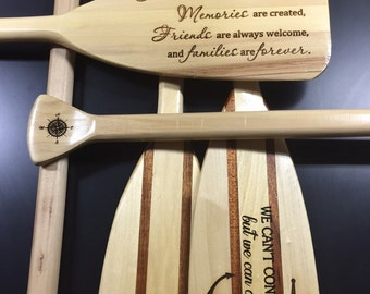 Custom wood paddles - Personalized for your home!