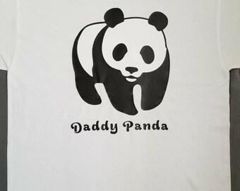 Daddy Panda Shirt