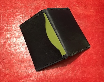 Handmade Leather Business Card Wallet (Type 1)