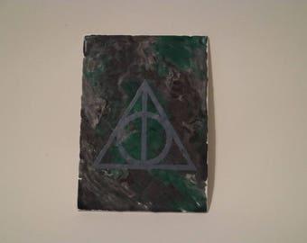 5 x 7 Canvas: Deathly Hallows
