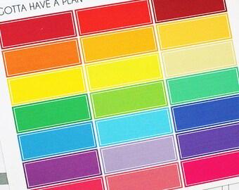 Planner Stickers Label for Erin Condren, Happy Planner, Filofax, Scrapbooking