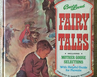 Best Loved FAIRY TALES including Mother Goose Selections with helpful Guide for Parents by Parents' Magazine