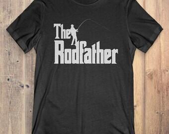 Fishing T-Shirt Gift: The Rodfather