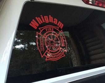 Firefighter Hose Decal
