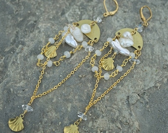 DAYDREAMER  /// Original Pearl dangles