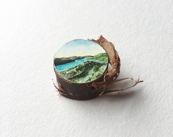 Original Miniature Landscape, Columbia River Gorge