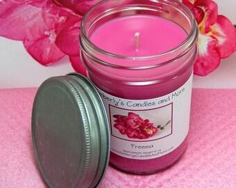 Freesia PURE SOY Mason Jar Candle