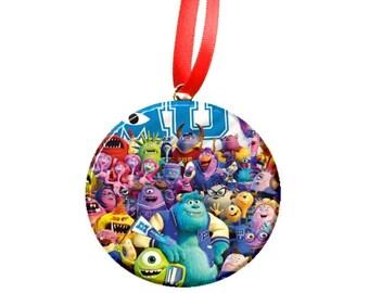 Monsters University Inc Christmas Tree Ornament -MU