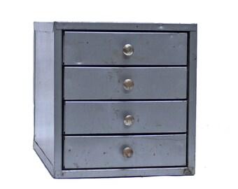Vintage Industrial Mini Multi-drawer Cabinet