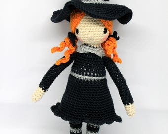 Upholstered Witch Doll (Gretl by Amour fou ®)