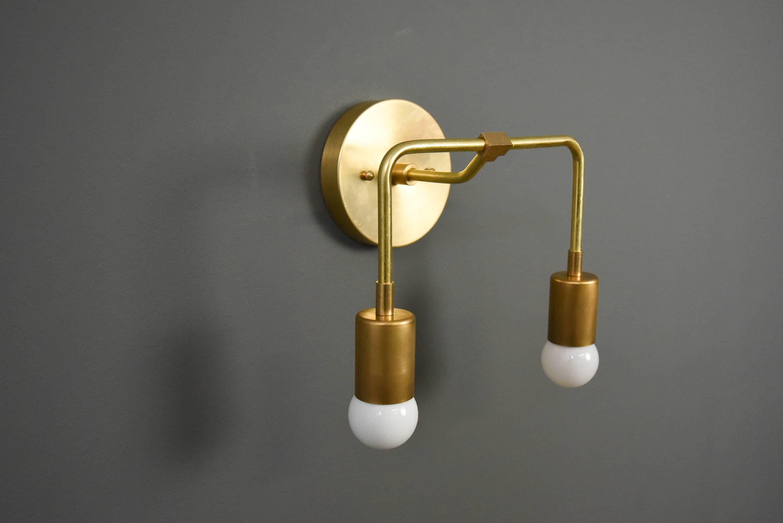 oro aplique estructura faro en wall old gold viejo lamp structure rem productos