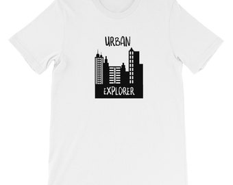Urban Explorer, Urban Exploration, Urban Photography, Explorer shirt, Urban Hipster, Abandoned Exploration T-Shirt