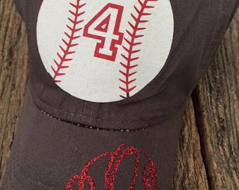 Baseball Hat w/ Personalized Number