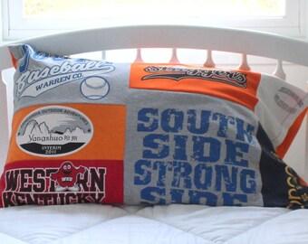 Custom T Shirt Pillow Case - Pillow Sham  - Memory Pillow - Standard