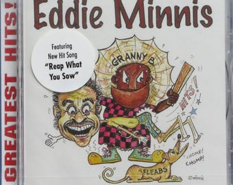 Greatest Hits 1 CD - original Bahamian music by Eddie Minnis