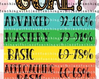 Classroom Goals Poster