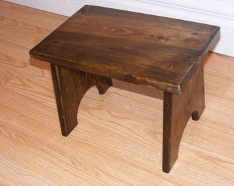 "14""  long 10"" tall Foot Stool"