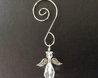 Angel Ornament - Silver