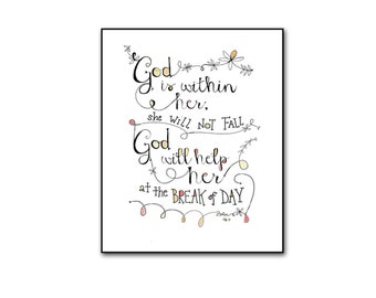 Psalm 96:12 Printable Religious Bible Verse Softball Sign