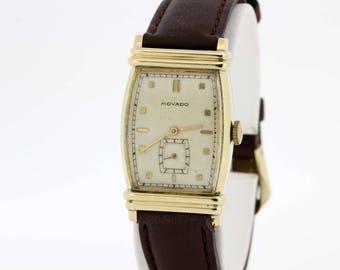 14 karat gold filled Movado wrist watch