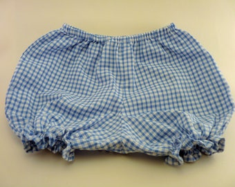 Baby Blue gingham bloomers