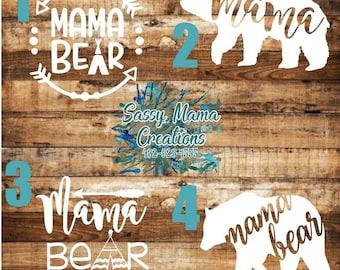 Mama Bear Decals