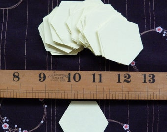 Paper Hexagons - English Paper Piecing Patchwork and Quilting Templates