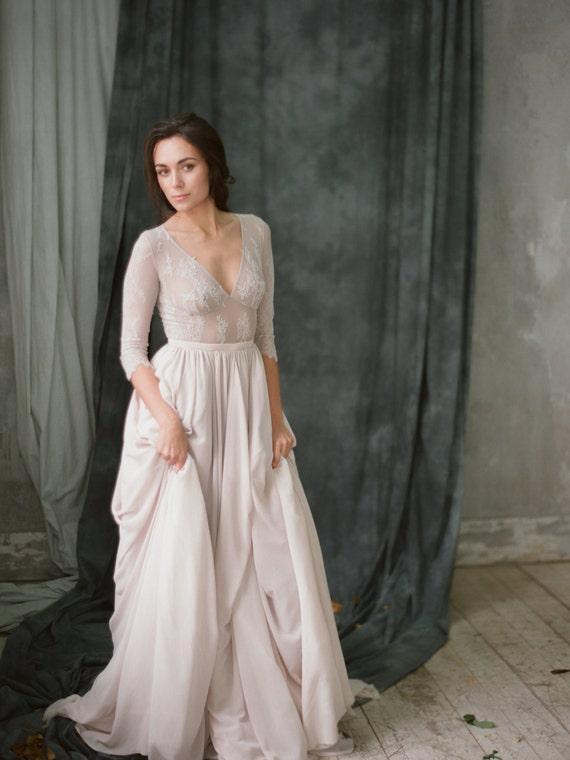 Corset Simple Wedding Dress